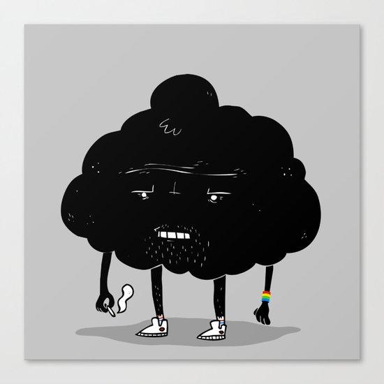 Mr. Optimistic Canvas Print