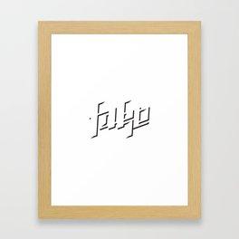 Fake Framed Art Print