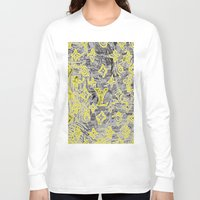 lv Long Sleeve T-shirts featuring LV NEONIZED by JANUARY FROST