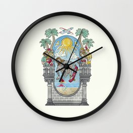The Lord of the Board Wall Clock