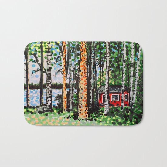 The Escape Hut Bath Mat