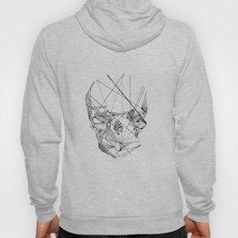 Line Skull Hoody