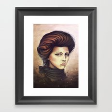 I'm Looking at You Framed Art Print