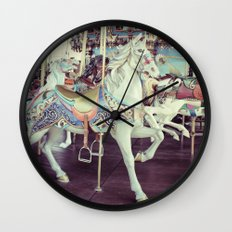 Horse of a different color! Wall Clock