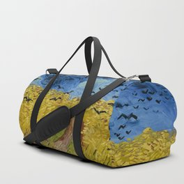 Vincent van Gogh - Wheatfield with Crows Duffle Bag