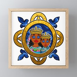 Erzulie Freda Framed Mini Art Print