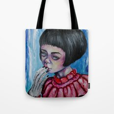 The Girl with Silver Hands  Tote Bag