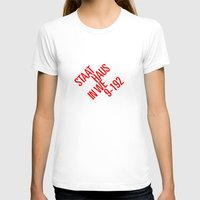 bauhaus T-shirts featuring Staatliches Bauhaus by THE USUAL DESIGNERS