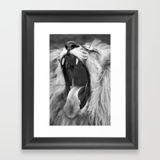 Are we keeping you up? Framed Art Print