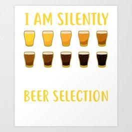 Craft Beer Beer Snob Ipa Beer Microbrewery Art Print