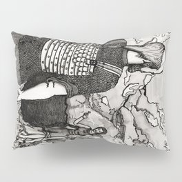 Herr Mannelig Pillow Sham