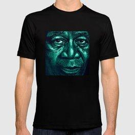 freeman in green T-shirt