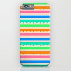 summer stripes iPhone 6 Slim Case