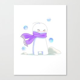 Sup Guy Is Cold Canvas Print