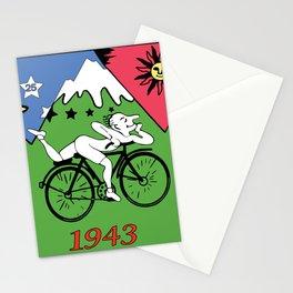 hoffman blotter Stationery Cards
