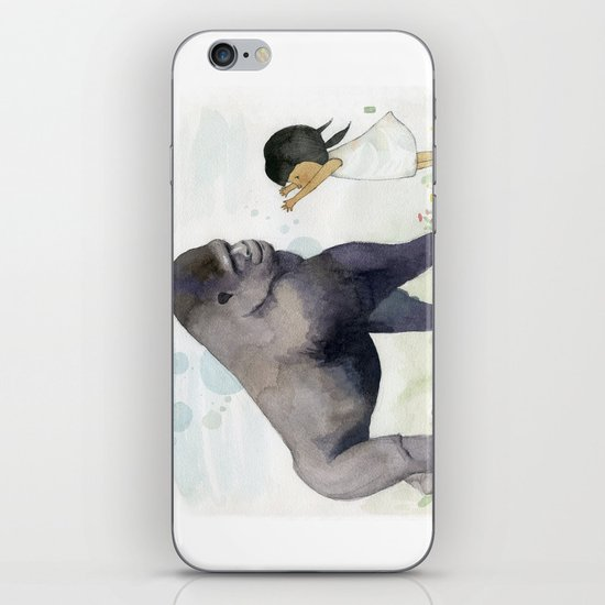Hug me , Mr. Gorilla iPhone & iPod Skin