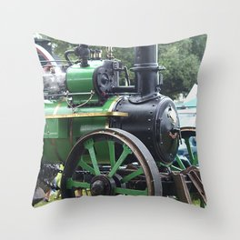 Steam Power 2 - Tractor Throw Pillow
