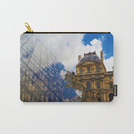 The Louvre Pyramid Carry-All Pouch