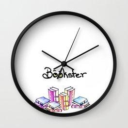Bookster Wall Clock