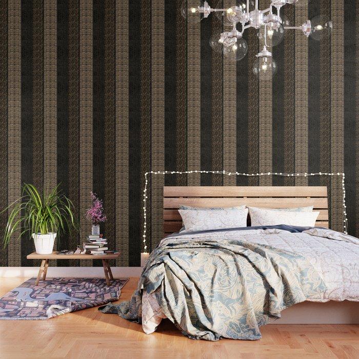 Golden Black Python Stripe Wallpaper By Luciasgaragesale
