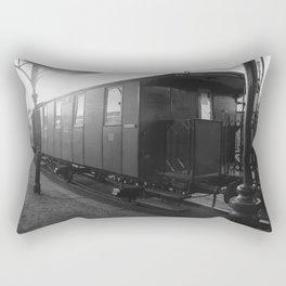 Old train wagon Rectangular Pillow