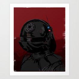 Gunner Art Print