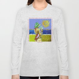 'Mary and Max' (Saw Sea Art Series) Long Sleeve T-shirt