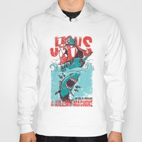 jaws Hoodies featuring Jaws by Tshirt-Factory