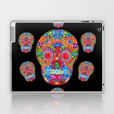 A really colourful skull Laptop & iPad Skin