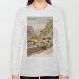 Vintage poster - Fernet-Branca Long Sleeve T-shirt