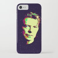 bowie iPhone & iPod Cases featuring Bowie by victorygarlic - Niki