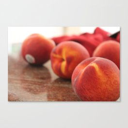 Peaches for Days Canvas Print