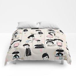 PLAYING!!!!! Comforters