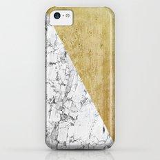 Marble vs GOld iPhone 5c Slim Case