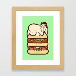 Love The Bun You're With  Framed Art Print