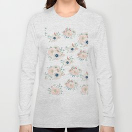Dog Rose Pattern 2 Long Sleeve T-shirt