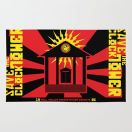 Clocktower Propaganda Rug