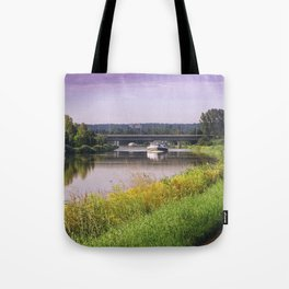 canal boatman Tote Bag