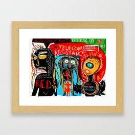 Ex-telecom Framed Art Print