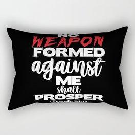 Isaiah 54:17 Rectangular Pillow