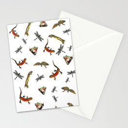 Let's go to the pond Stationery Cards