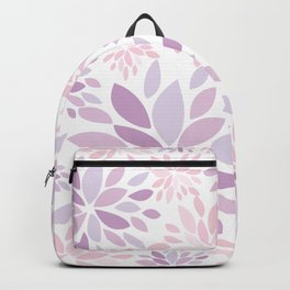 Nature's Healing Mandala Pastel Pink Backpack