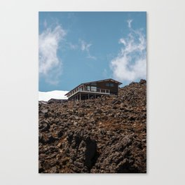 Mansion of the Mountain Canvas Print