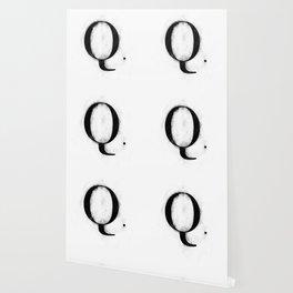 Q. - Distressed Initial Wallpaper