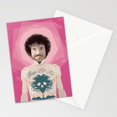 Bob Ross is God Stationery Cards