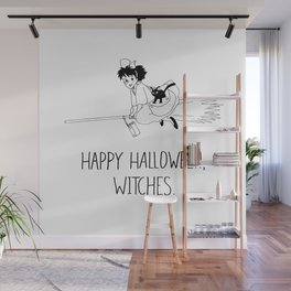 Happy Halloween, Witches! Wall Mural