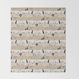 Cat & Mouse Throw Blanket