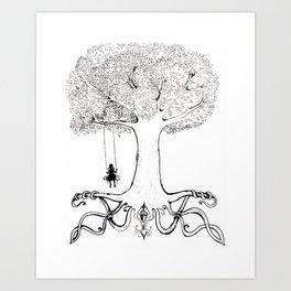 Mighty Oak from Acorns Grow Art Print