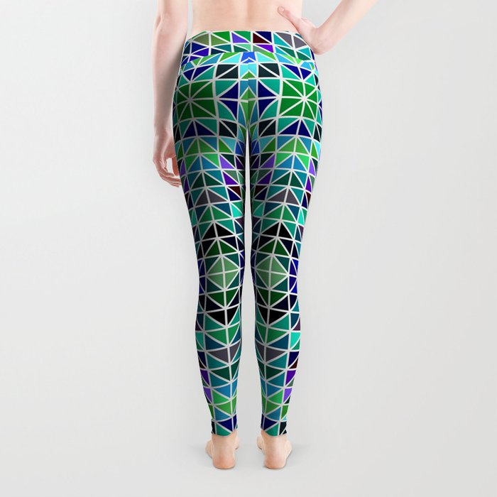 Kaleidoscope mosaic Leggings