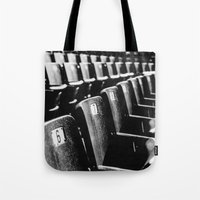 paramore Tote Bags featuring Monumentour, 2014 by Danielle Doepke